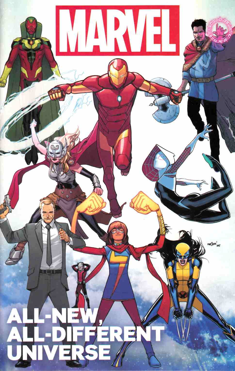 All New All Different Marvel Universe (One Shot) [Marvel Comic] THUMBNAIL