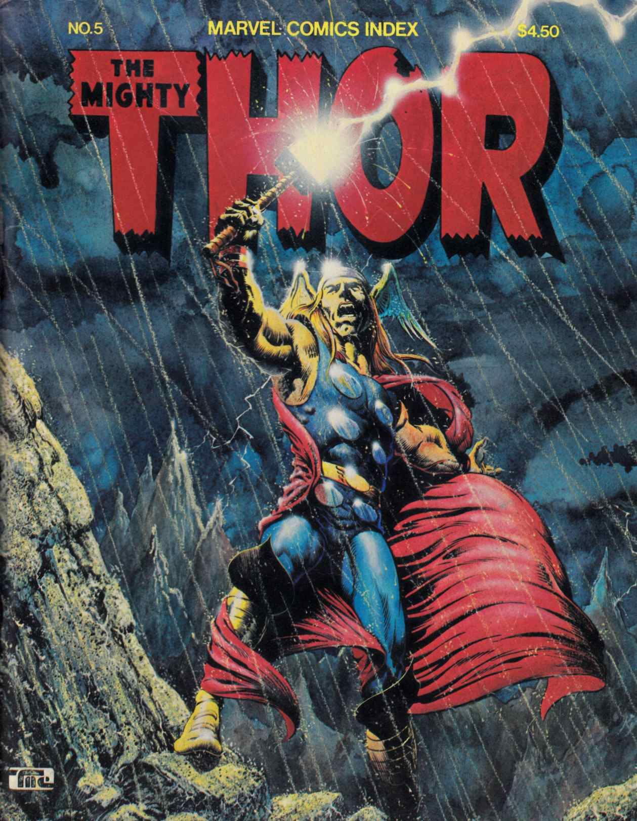 Marvel Comics Index #5 (Thor) Fine (6.0) [Pacific Magazine] THUMBNAIL