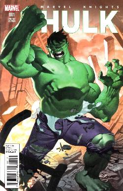Marvel Knights Hulk #1 Stevens Variant Cover [Marvel Comic] LARGE