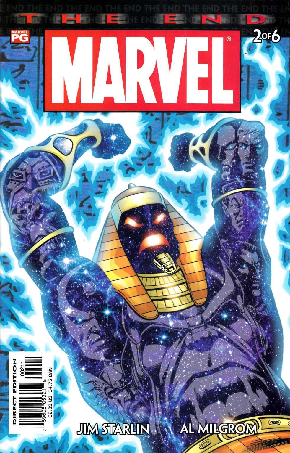 Marvel Universe The End #2 Near Mint (9.4) [Marvel Comic] THUMBNAIL