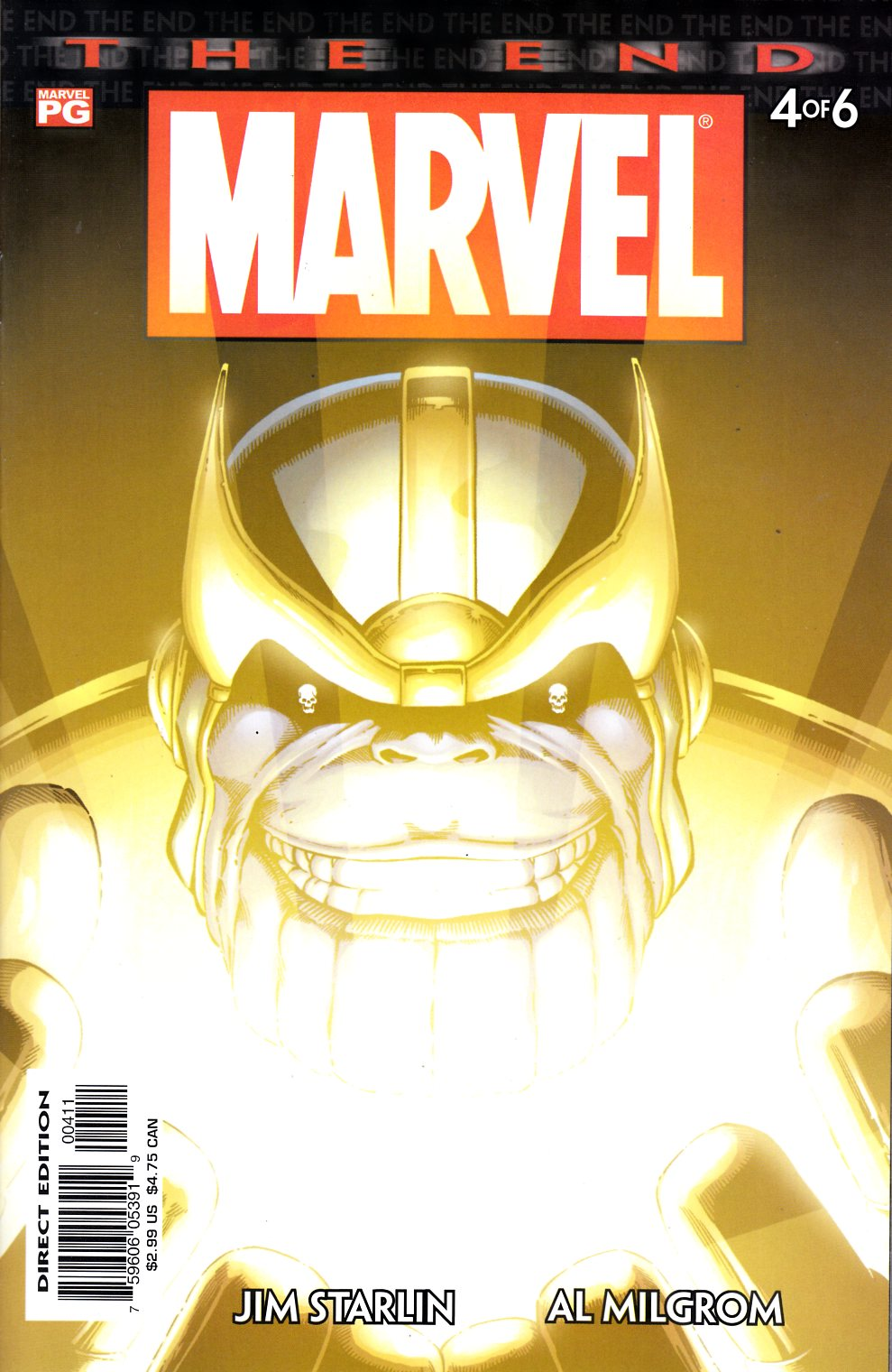 Marvel Universe The End #4 Near Mint (9.4) [Marvel Comic] THUMBNAIL