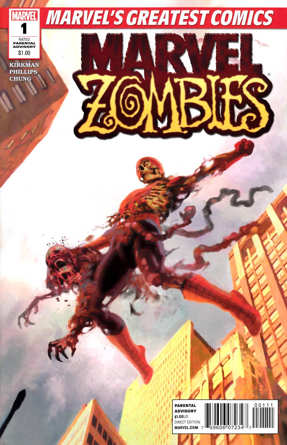 Marvel Zombies #1 MGC Edition [Marvel Comic]_LARGE