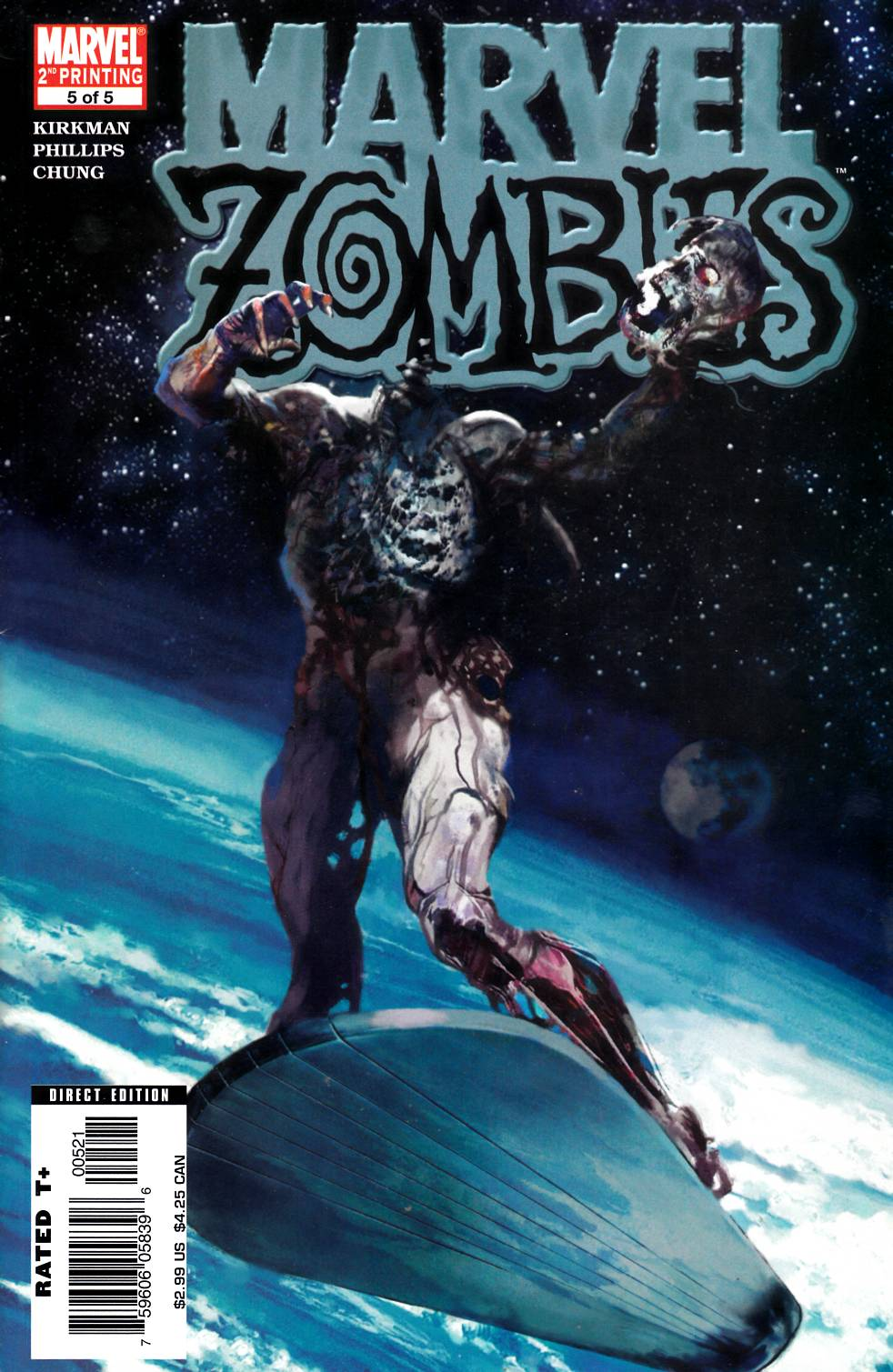 Marvel Zombies #5 Second Printing [Marvel Comic] THUMBNAIL