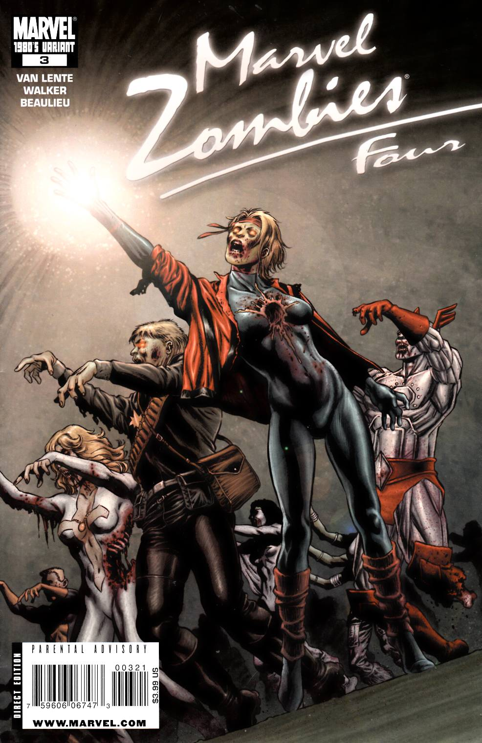 Marvel Zombies 4 #3 80s Decade Variant Cover [Marvel Comic] THUMBNAIL