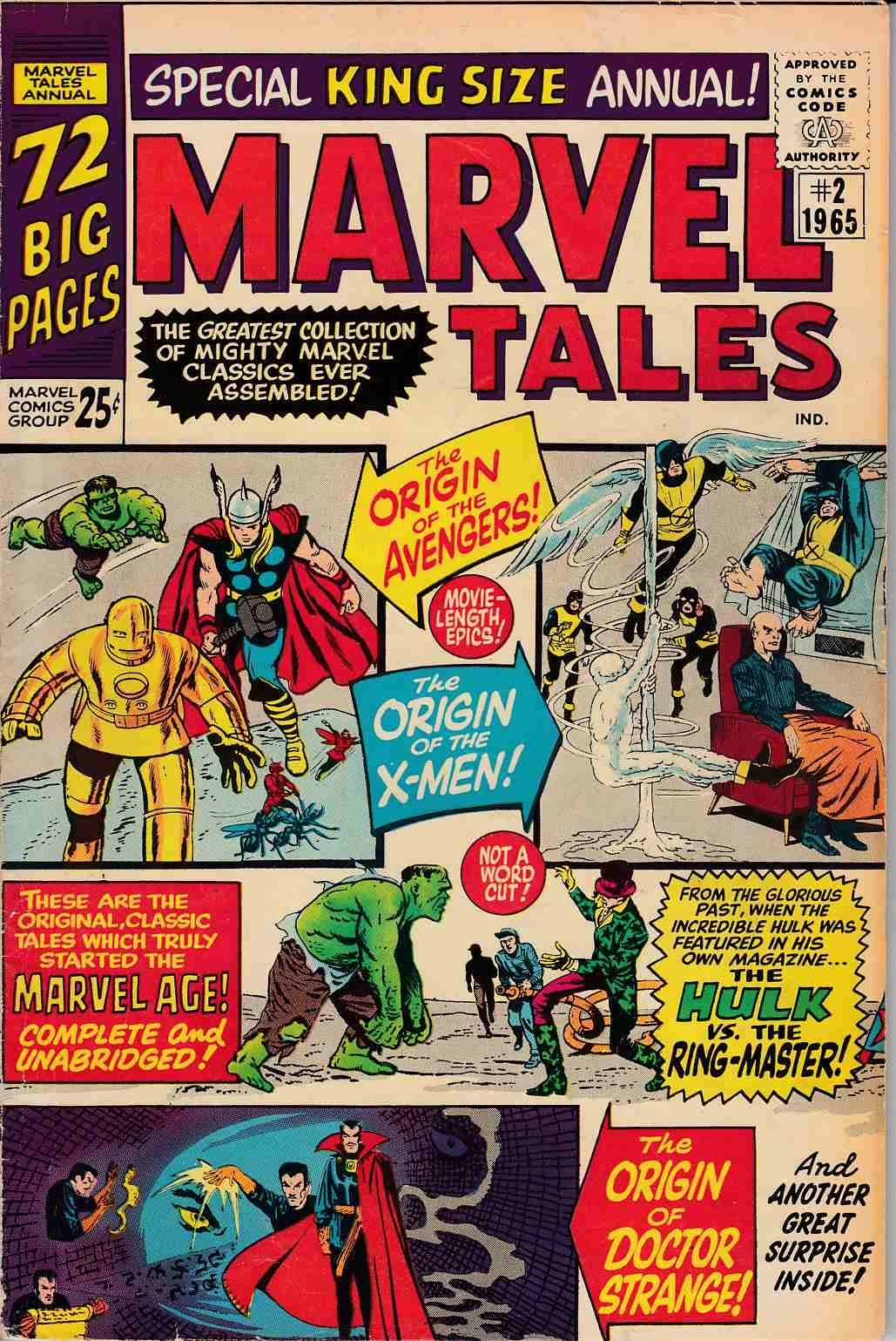 Marvel Tales #2 Very Good Plus (4.5) [Marvel Comic] LARGE