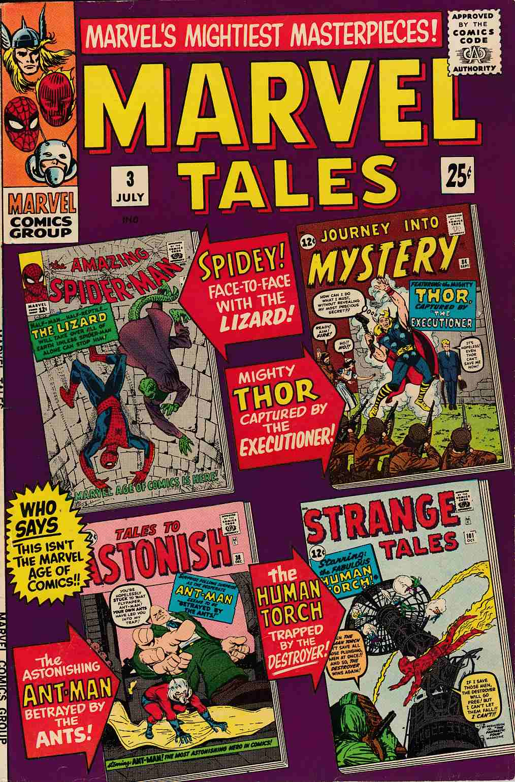 Marvel Tales #3 Very Good Plus (4.5) [Marvel Comic] LARGE