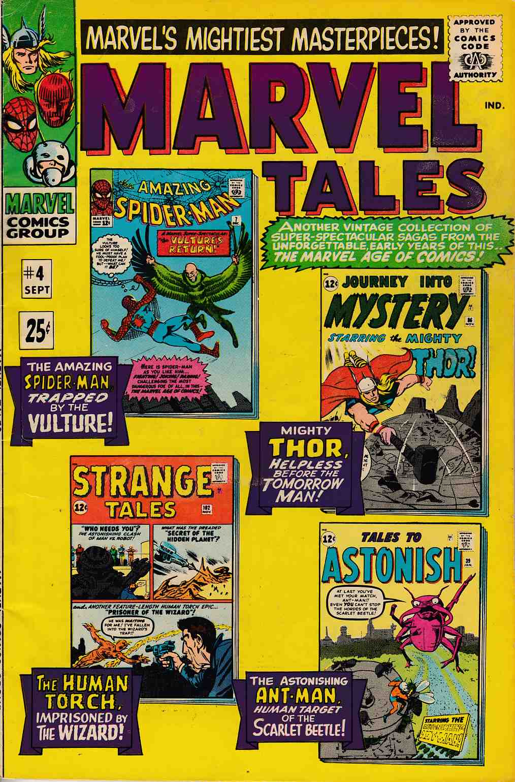 Marvel Tales #4 Fine (6.0) [Marvel Comic] LARGE