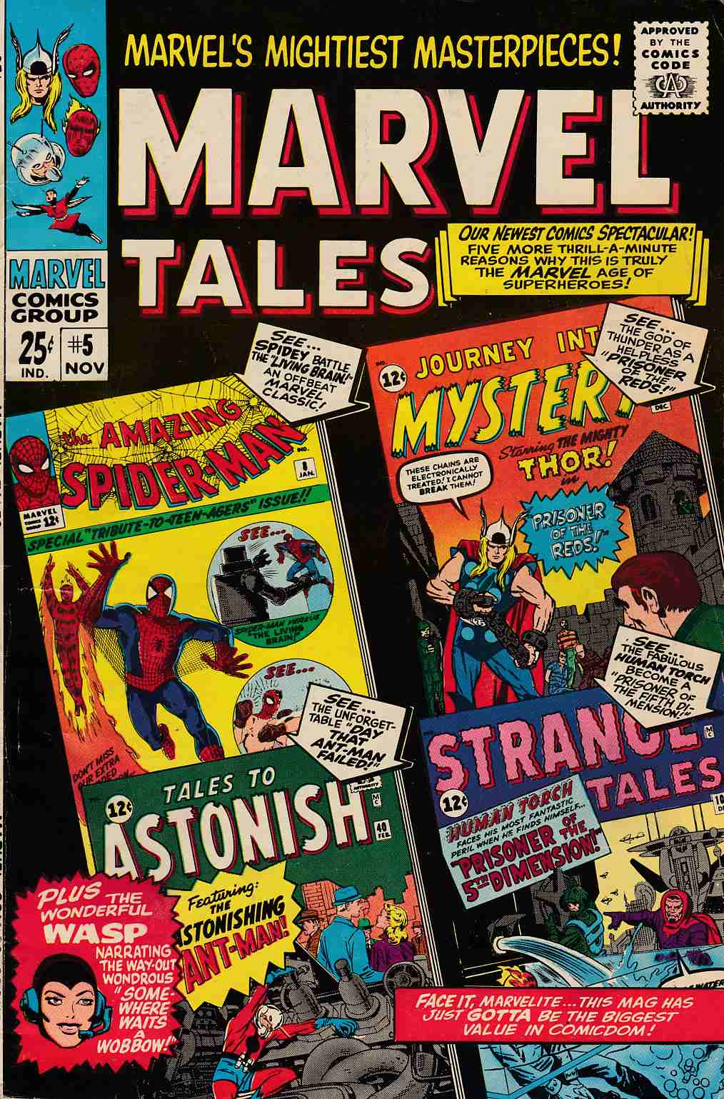 Marvel Tales #5 Fine (6.0) [Marvel Comic] LARGE