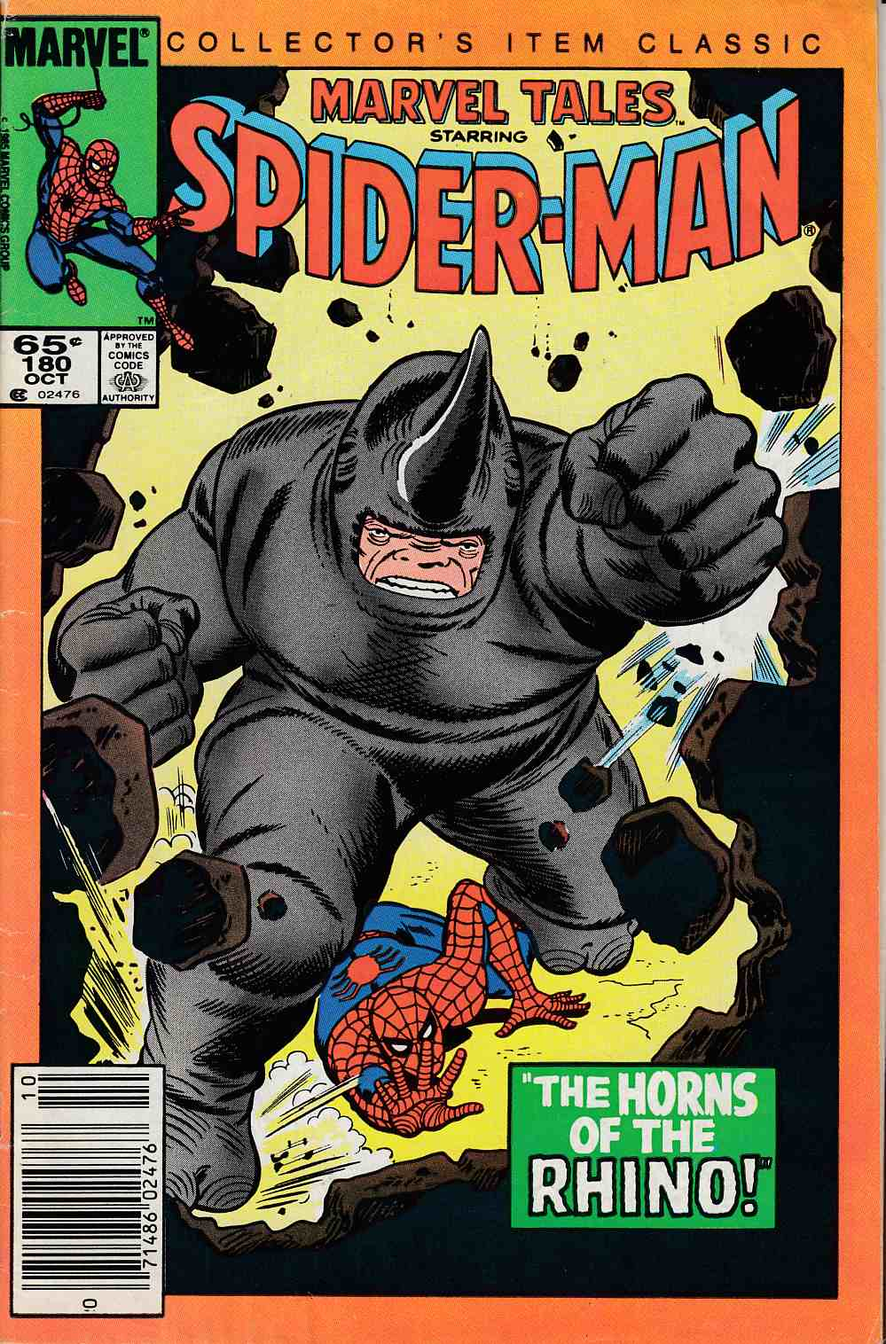 Marvel Tales #180 Very Good (4.0) [Marvel Comic] LARGE