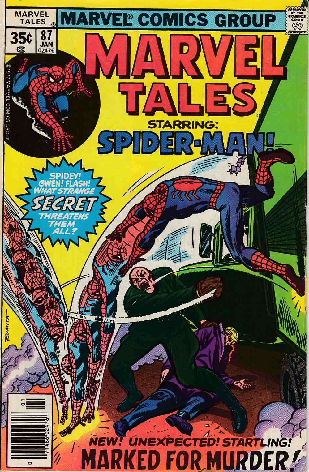 Marvel Tales #87 Fine (6.0) [Marvel Comic] LARGE