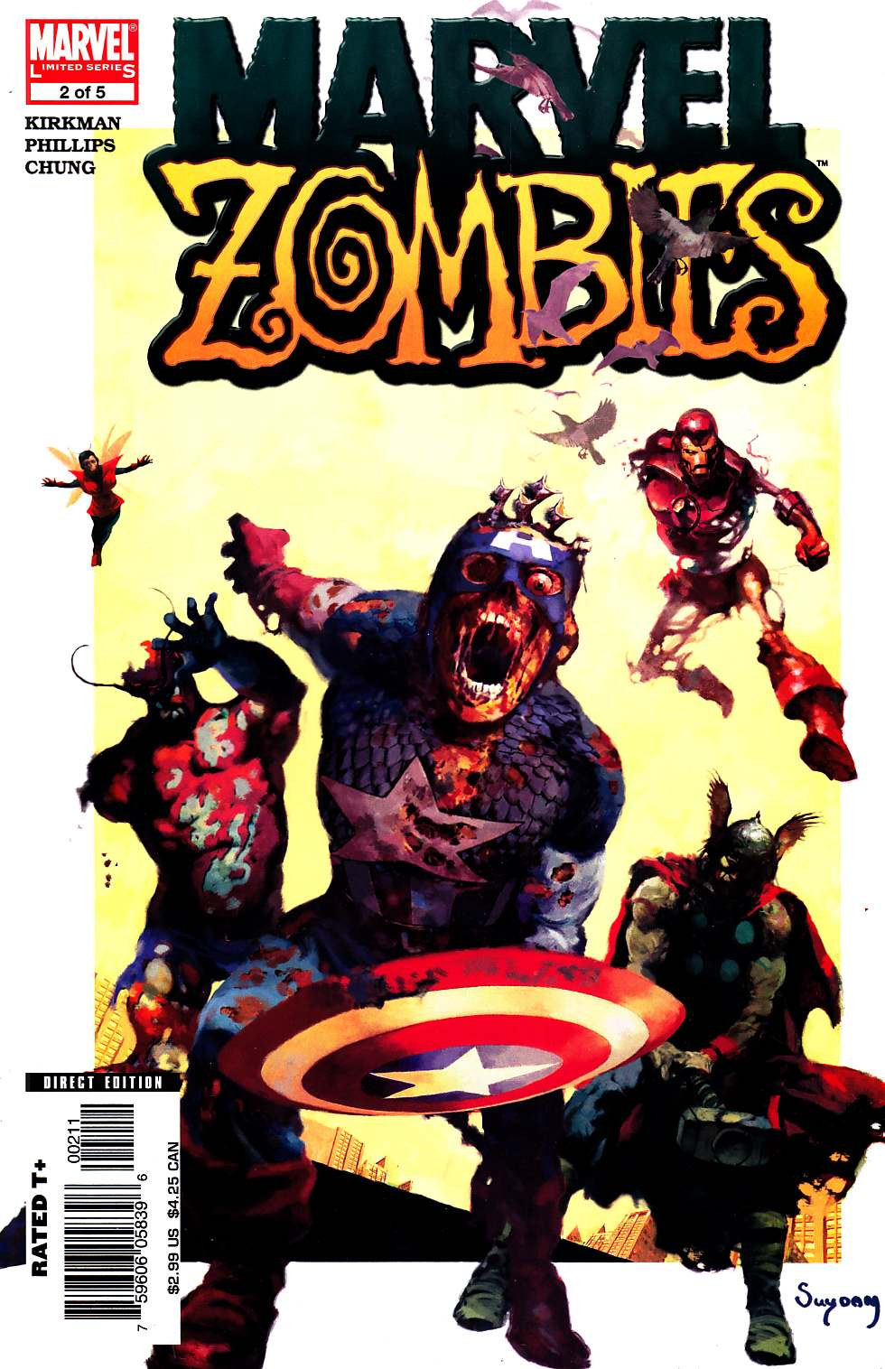 Marvel Zombies #2 Near Mint Minus (9.2) [Marvel Comic]_LARGE