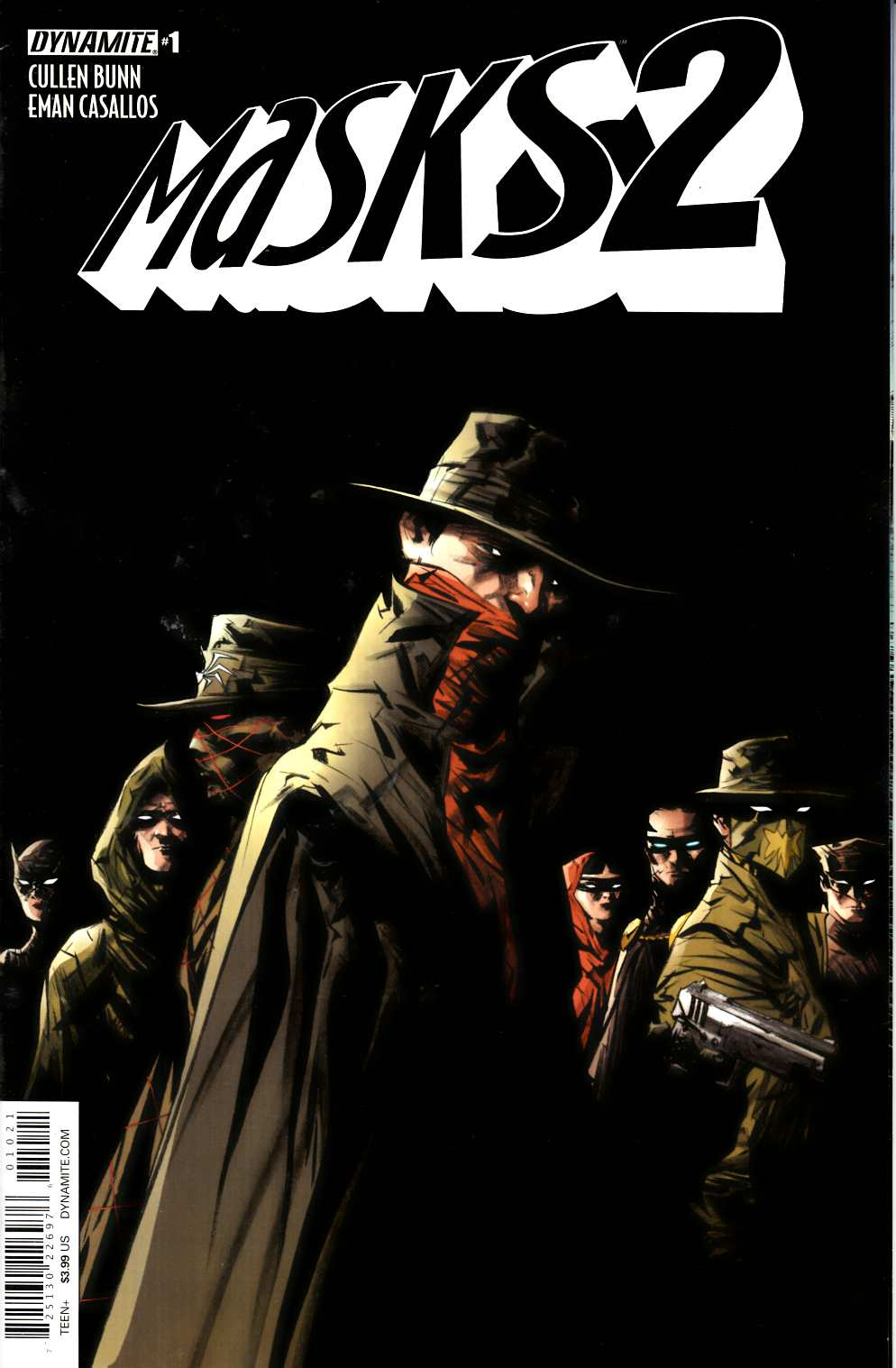 Masks 2 #1 Cover B- Lee [Dynamite Comic] THUMBNAIL