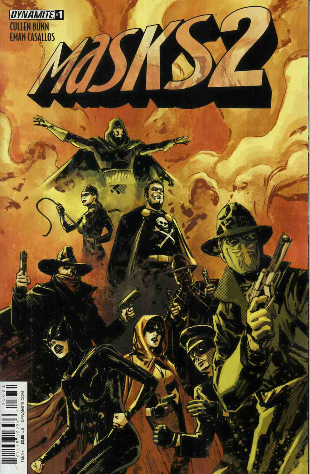 Masks 2 #1 Cover C- Subscription Cover [Dynamite Comic] THUMBNAIL