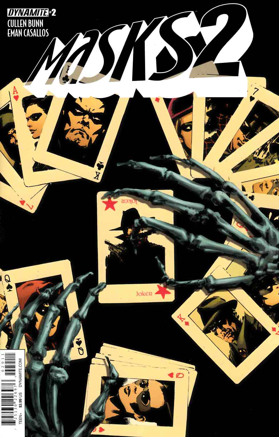 Masks 2 #2 Cover A- Guice [Dynamite Comic] THUMBNAIL