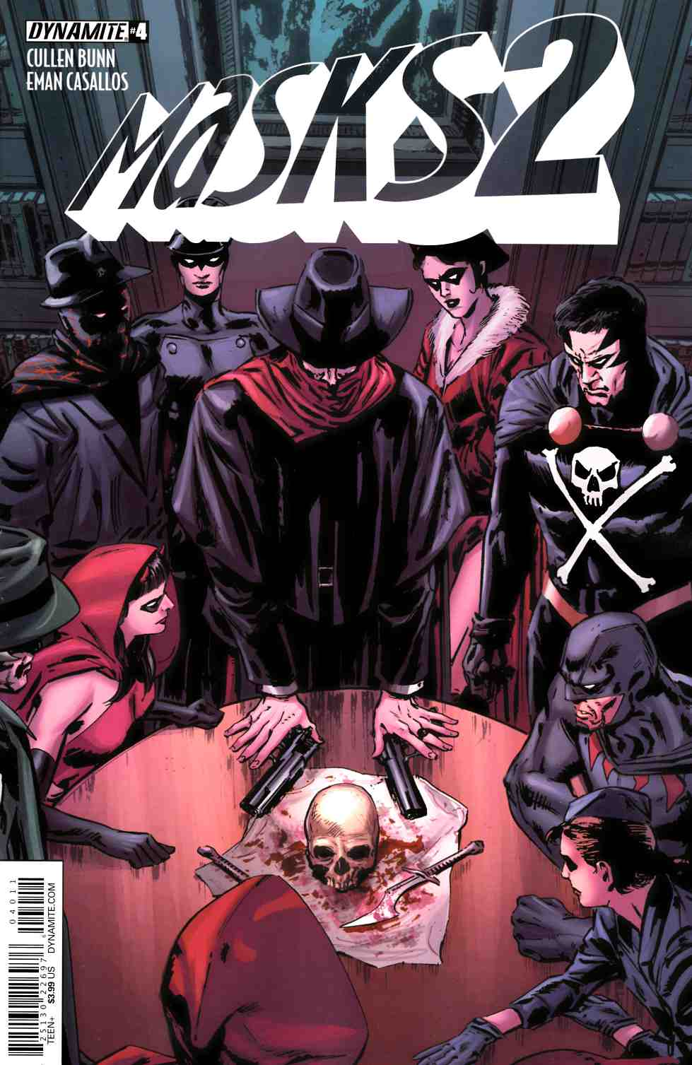 Masks 2 #4 Cover A- Guice [Dynamite Comic] THUMBNAIL