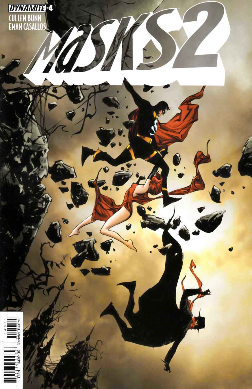 Masks 2 #4 Cover B- Lee [Dynamite Comic] THUMBNAIL