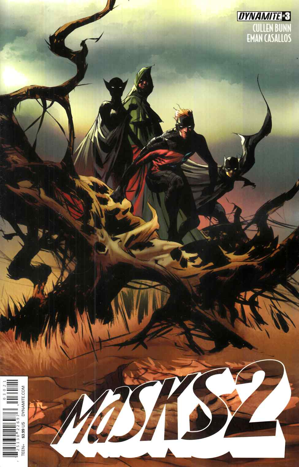 Masks 2 #3 Cover B- Lee [Dynamite Comic] THUMBNAIL