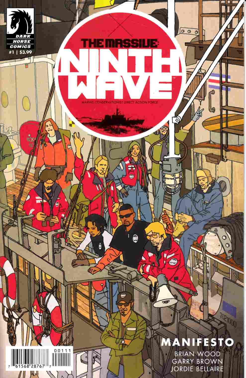 Massive Ninth Wave #1 [Dark Horse Comic] THUMBNAIL