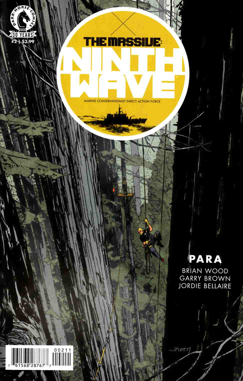 Massive Ninth Wave #2 [Dark Horse Comic] THUMBNAIL