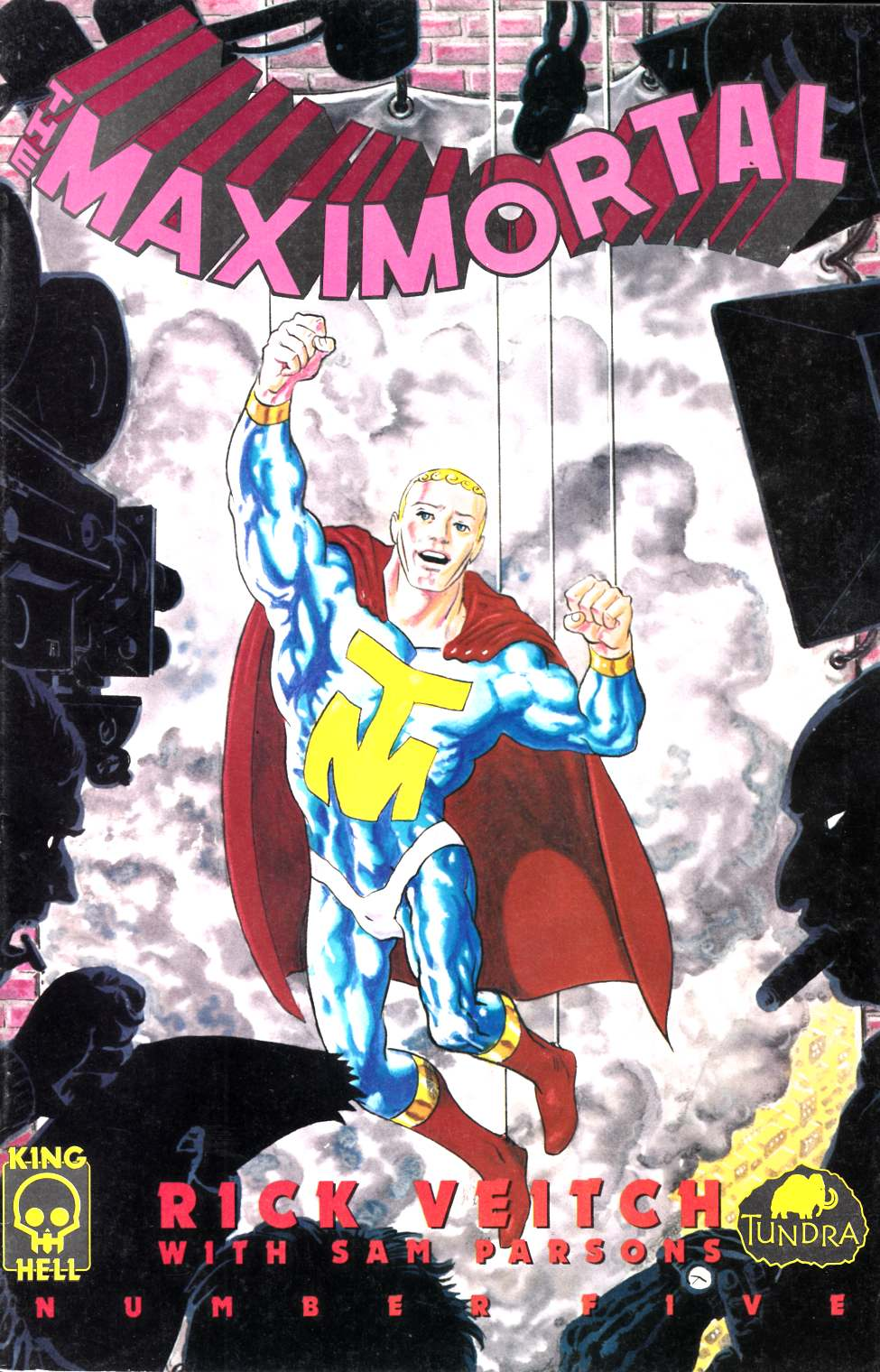 Maximortal #5 Very Fine (8.0) [Tundra Comic] LARGE