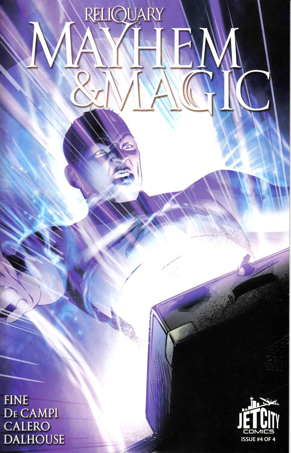 Mayhem and Magic Reliquary Series #4 [Jet City Comic] LARGE