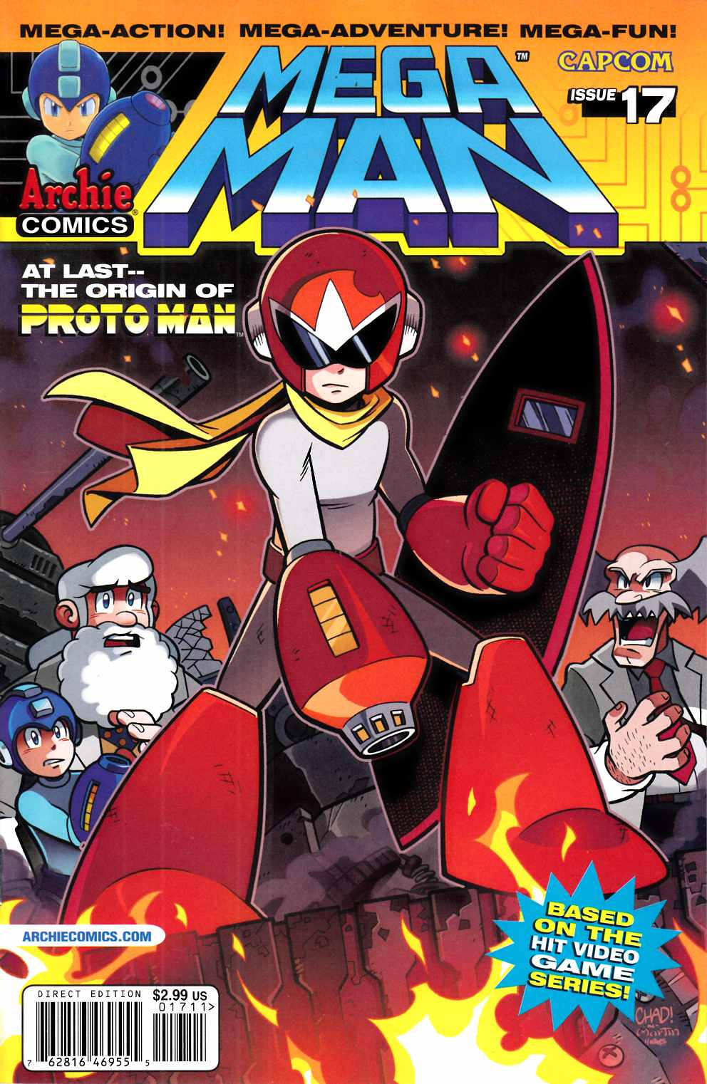 Mega Man #17 Near Mint (9.4) [Archie Comic] THUMBNAIL