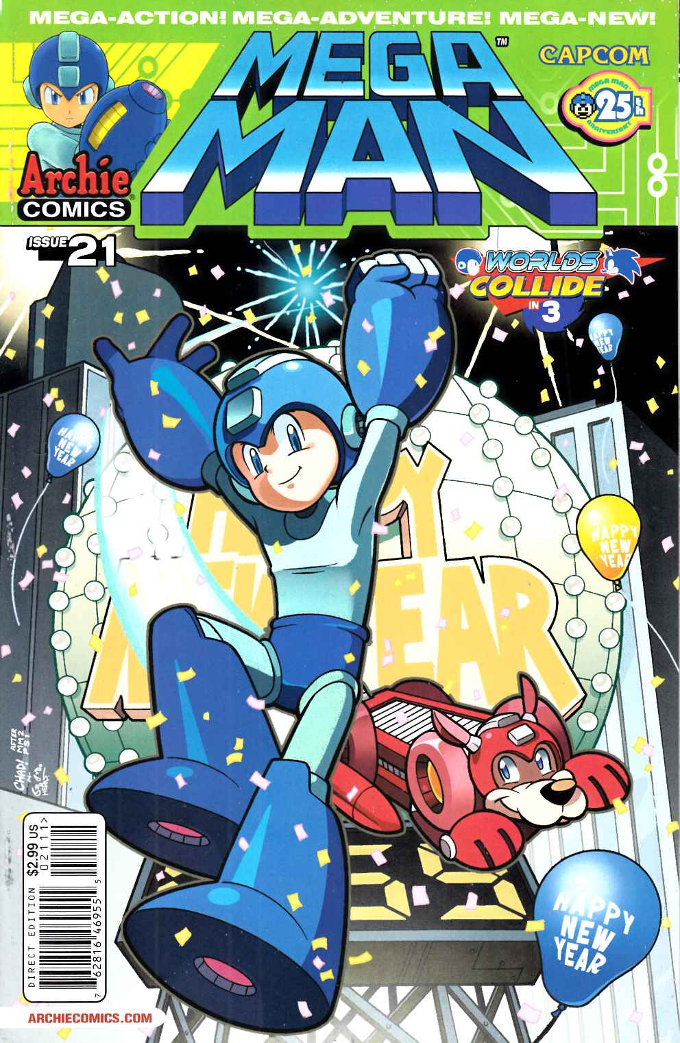 Mega Man #21 Near Mint (9.4) [Archie Comic] THUMBNAIL
