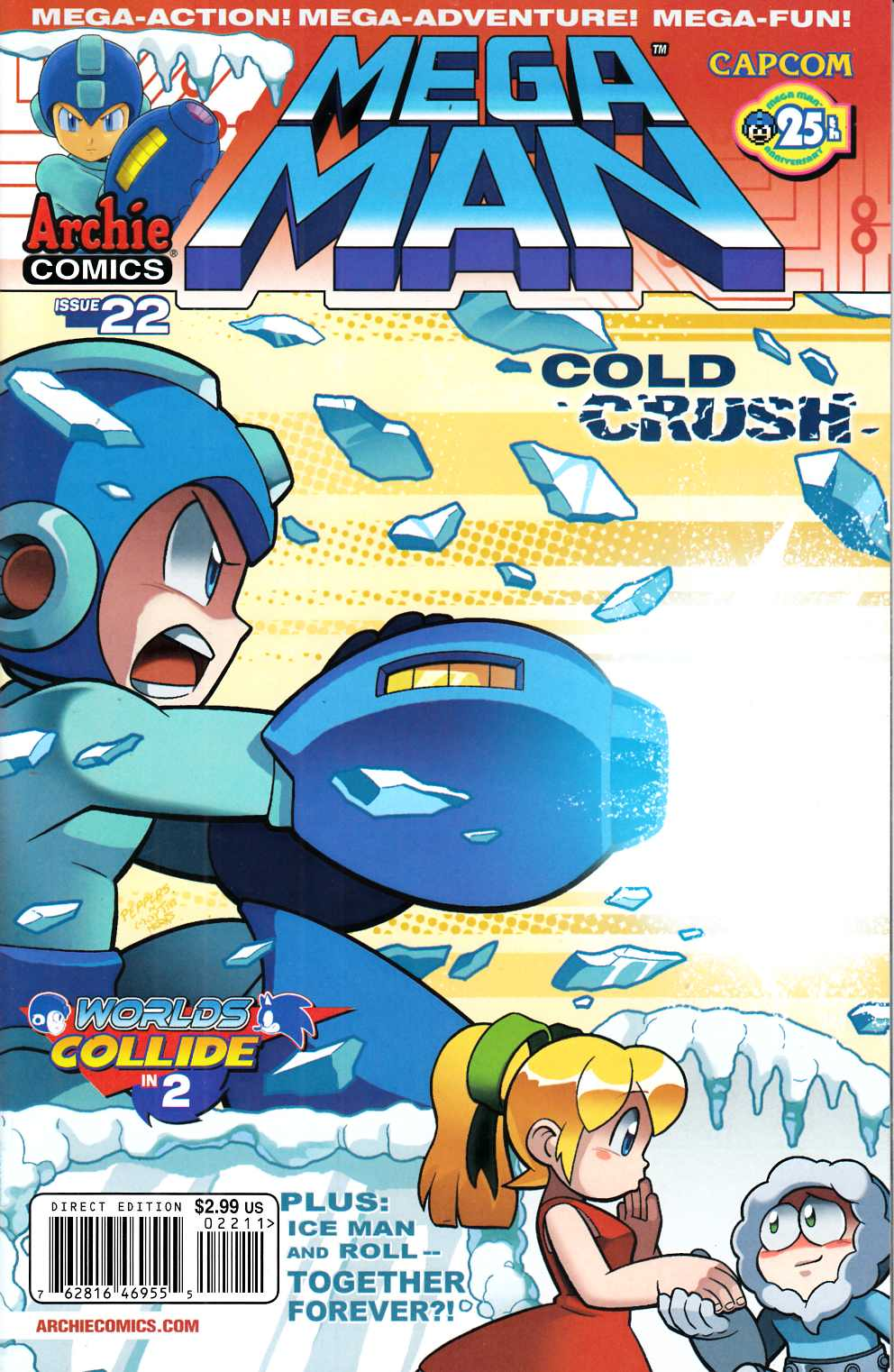 Mega Man #22 Near Mint (9.4) [Archie Comic] THUMBNAIL