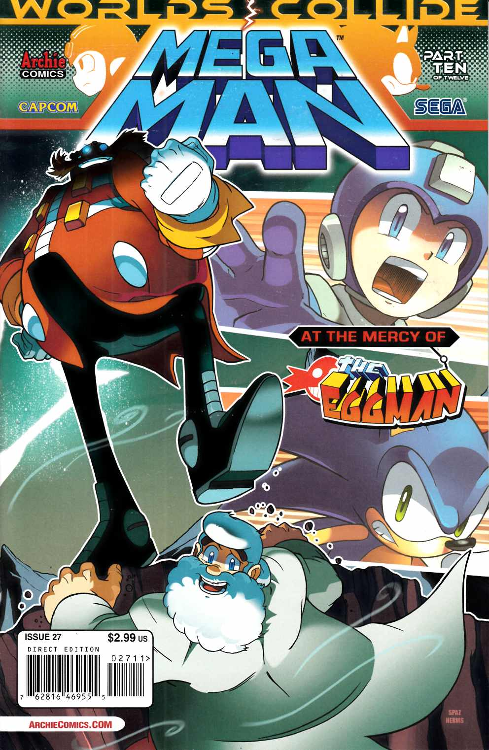 Mega Man #27 Very Fine (8.0) [Archie Comic] THUMBNAIL
