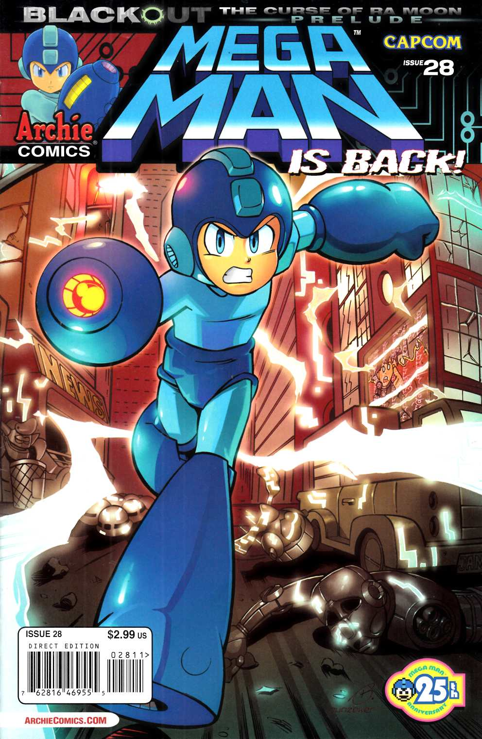 Mega Man #28 Very Fine (8.0) [Archie Comic] THUMBNAIL