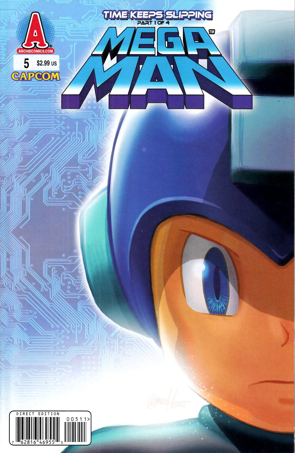 Mega Man #5 Near Mint (9.4) [Archie Comic] THUMBNAIL