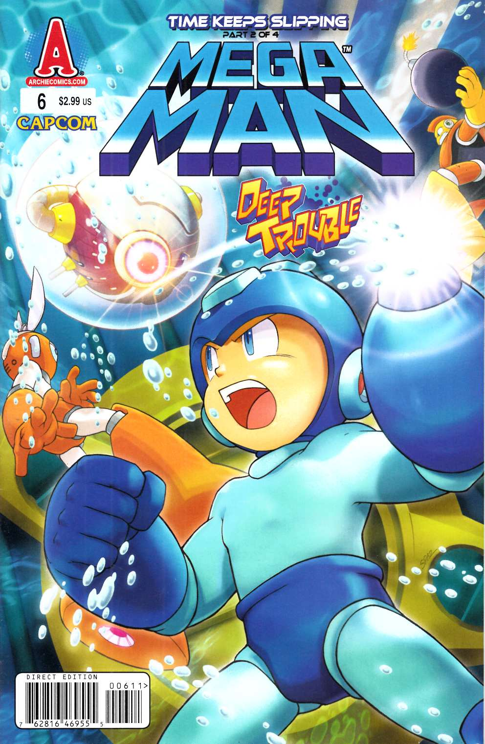 Mega Man #6 Near Mint (9.4) [Archie Comic] THUMBNAIL