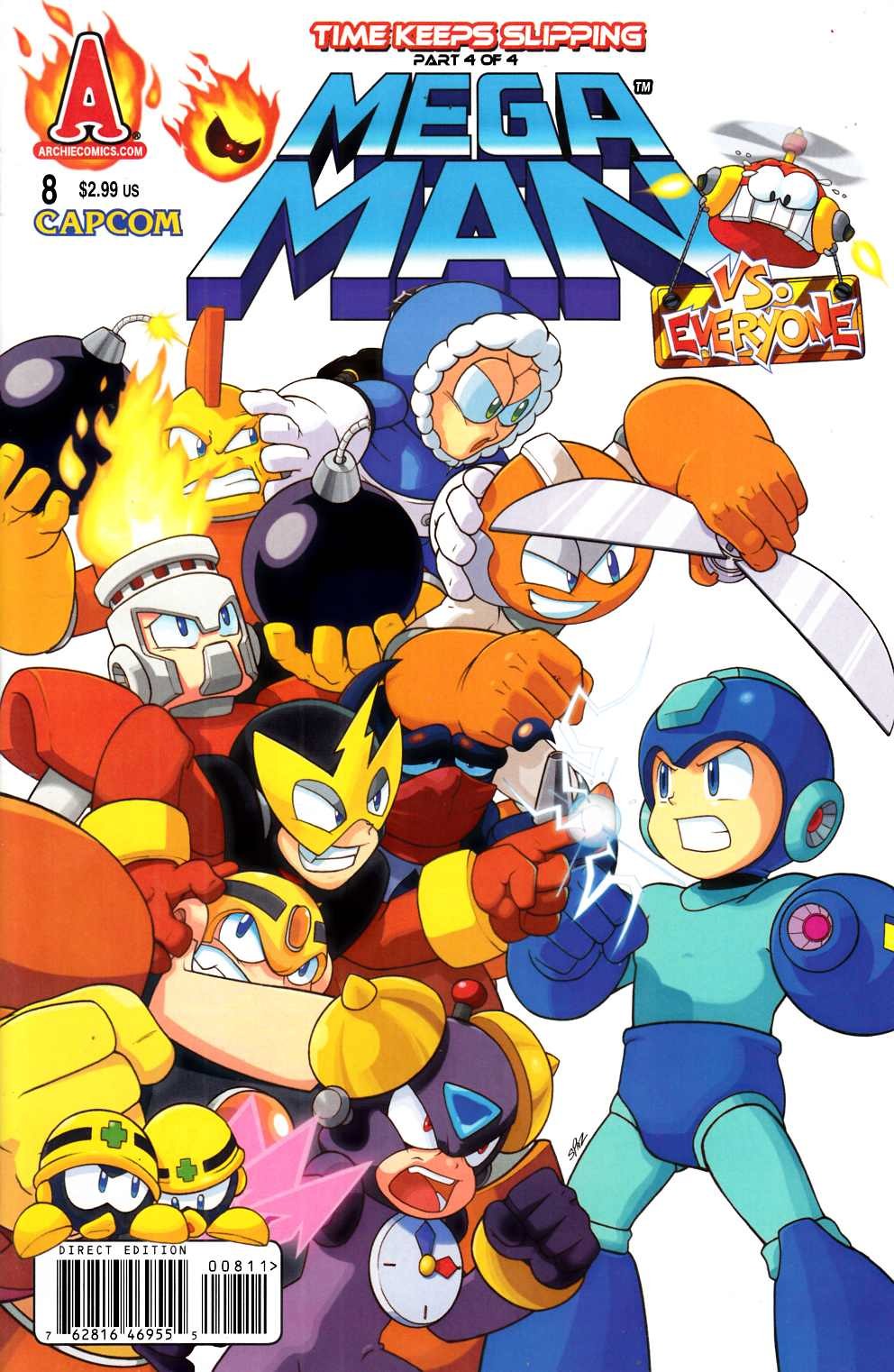 Mega Man #8 Near Mint (9.4) [Archie Comic] THUMBNAIL
