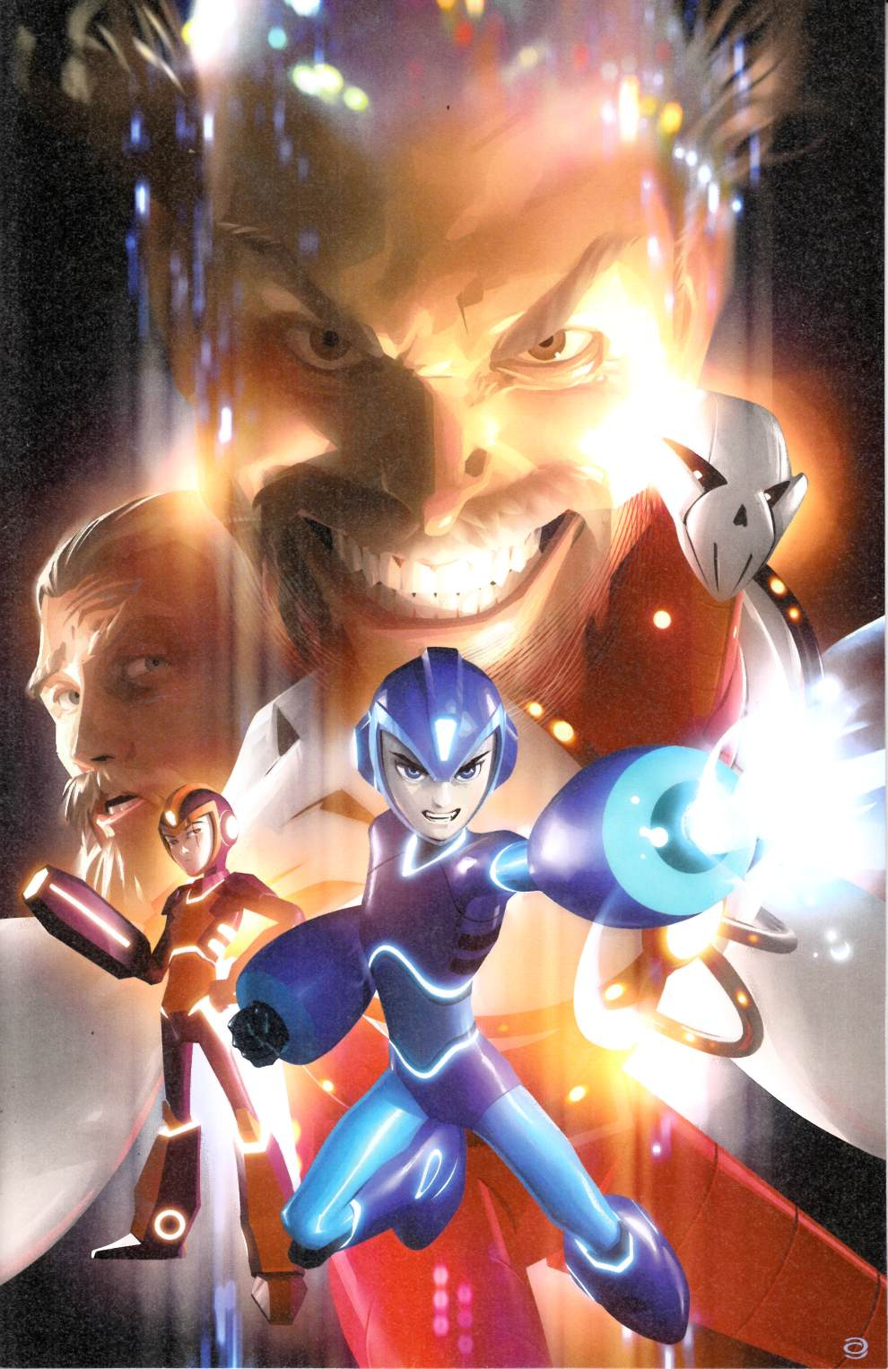 Mega Man Fully Charged #5 Garner Variant Cover  Near Mint (9.4) [Boom Comic] THUMBNAIL
