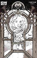 Memorial #6 Cover RI- Michael Kaluta B&W [IDW Comic] THUMBNAIL