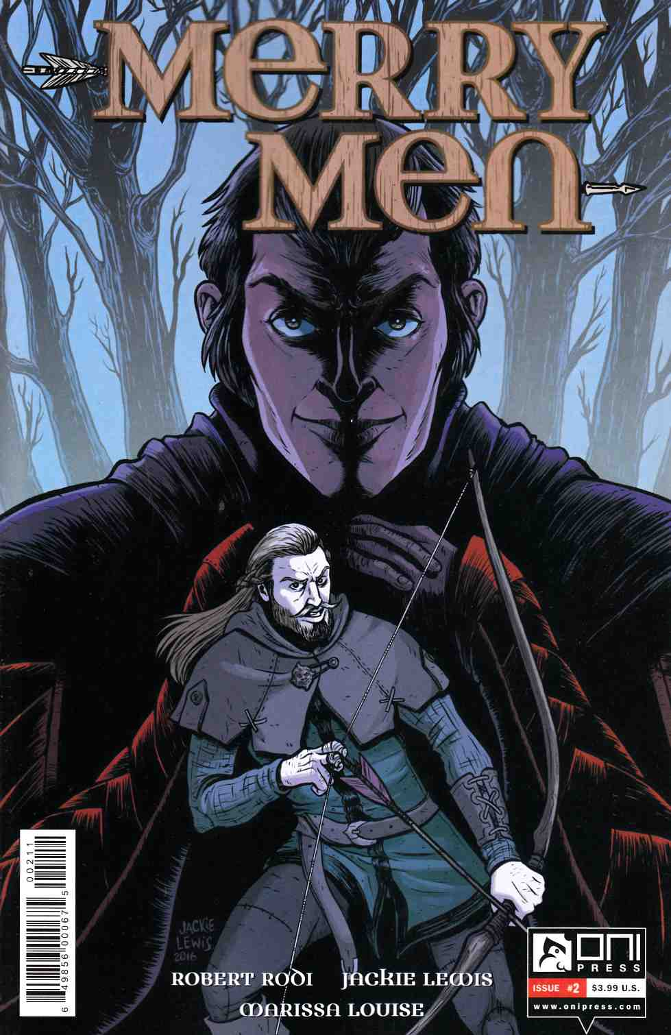 Merry Men #2 [Oni Press Comic] THUMBNAIL