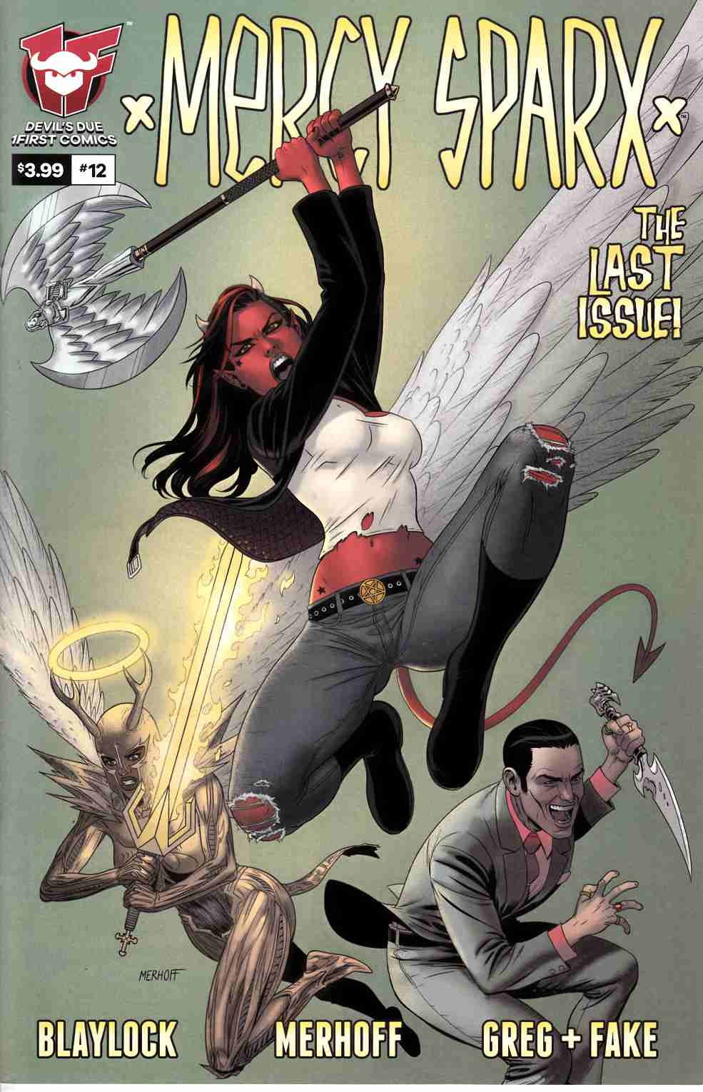 Mercy Sparx #12 Cover A [Devils Due Comic] THUMBNAIL
