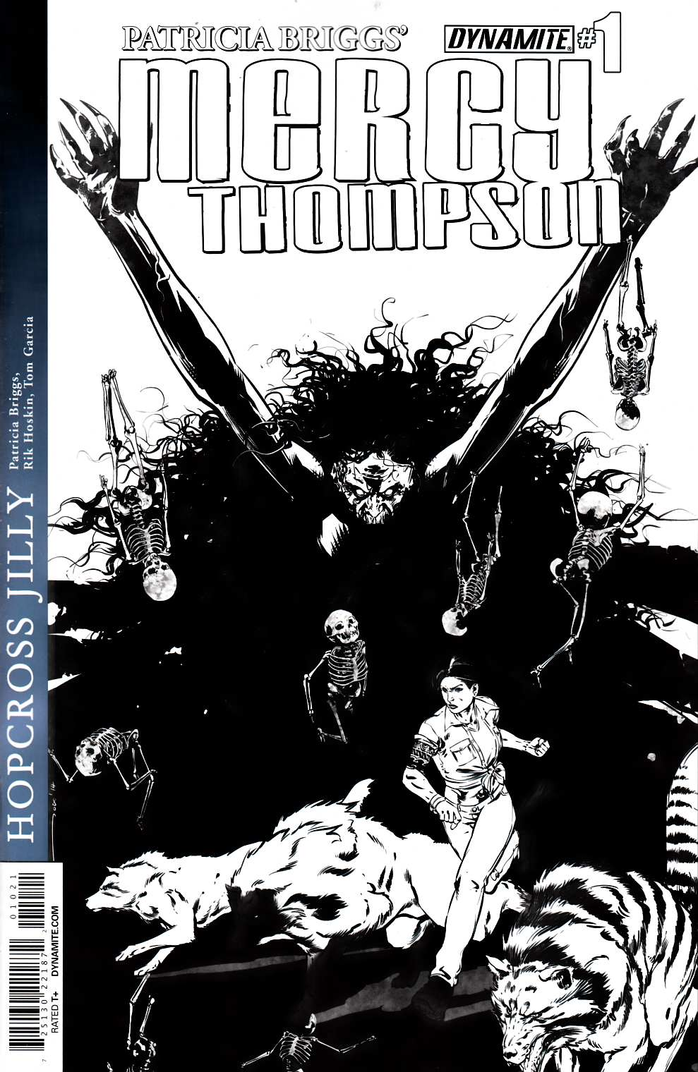Mercy Thompson #1 Garcia B&W Variant Cover [Comic] THUMBNAIL