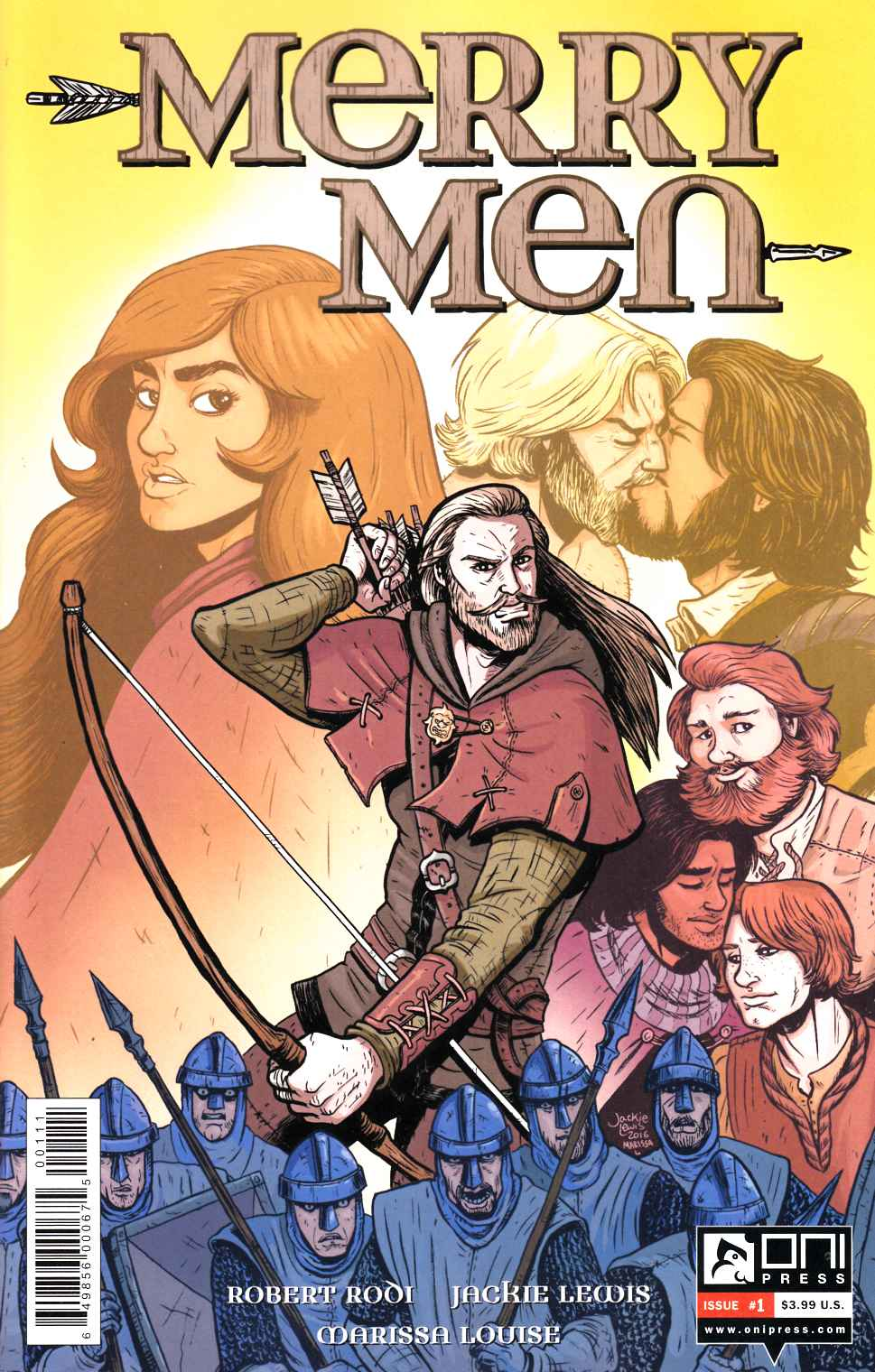 Merry Men #1 [Oni Press Comic] THUMBNAIL