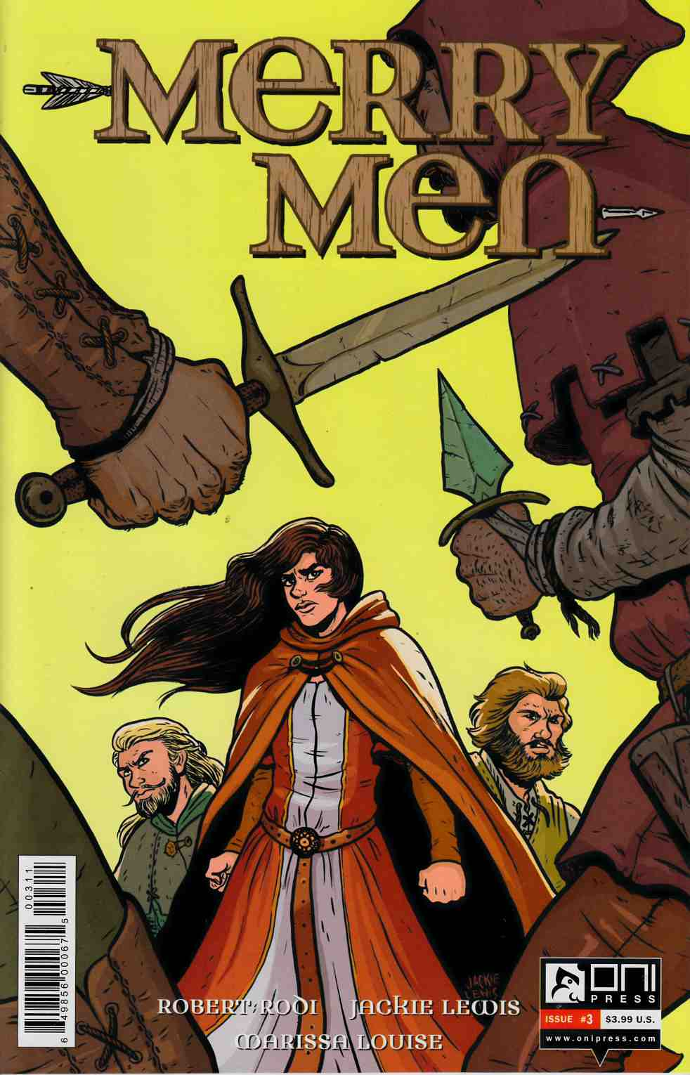 Merry Men #3 [Oni Press Comic] THUMBNAIL