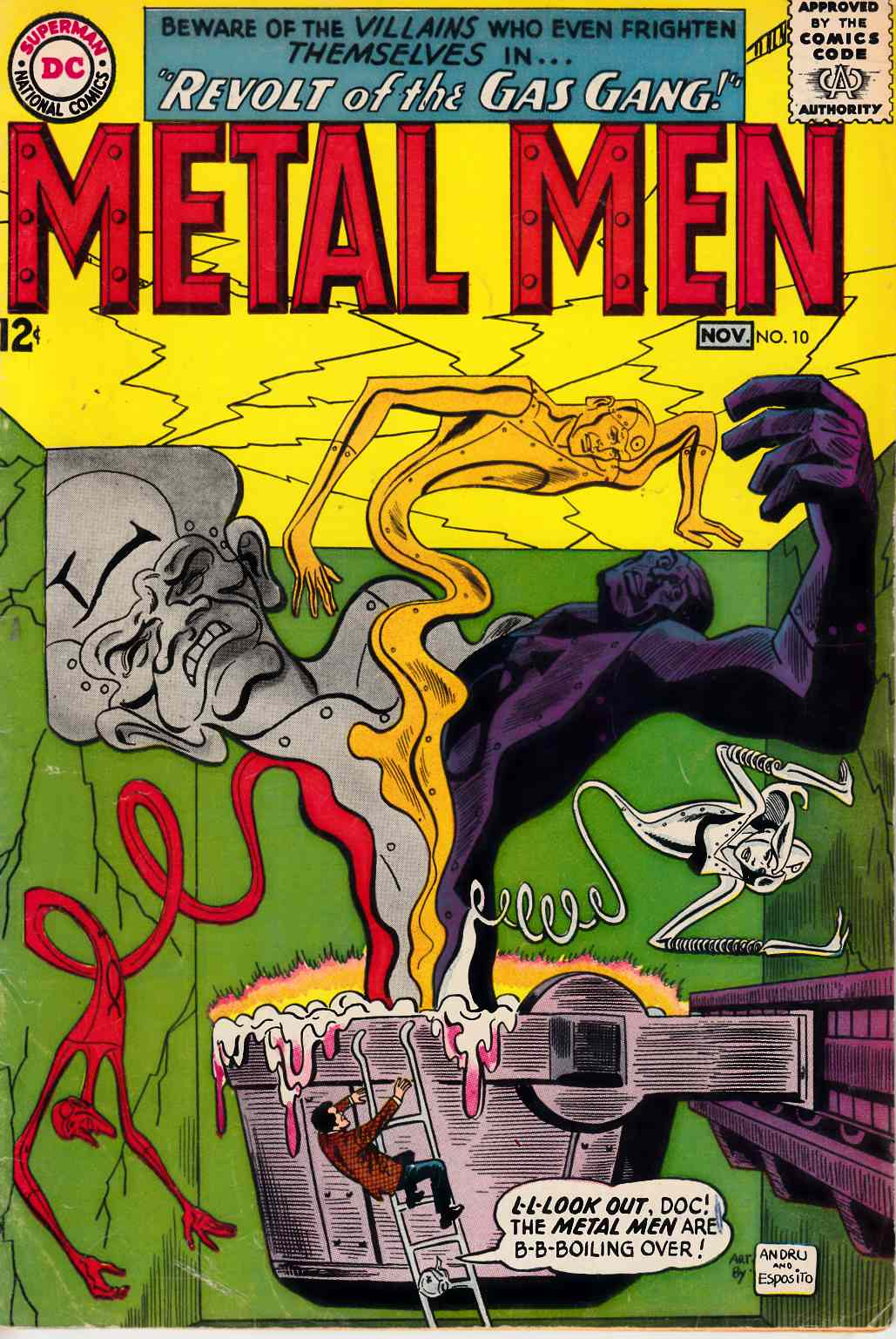 Metal Men #10 Fine Minus (5.5) [DC Comic] THUMBNAIL