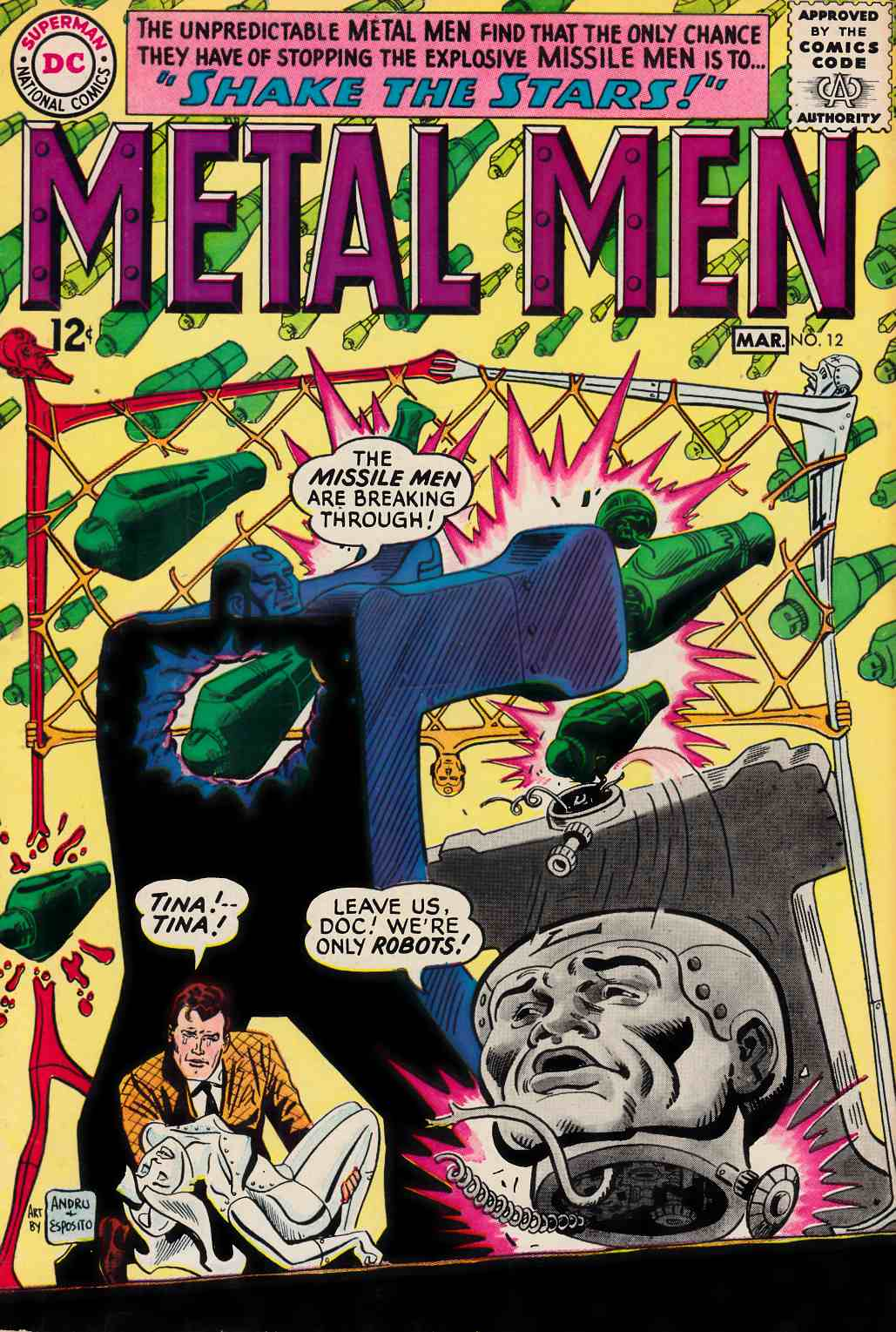 Metal Men #12 Good Plus (2.5) [DC Comic] THUMBNAIL