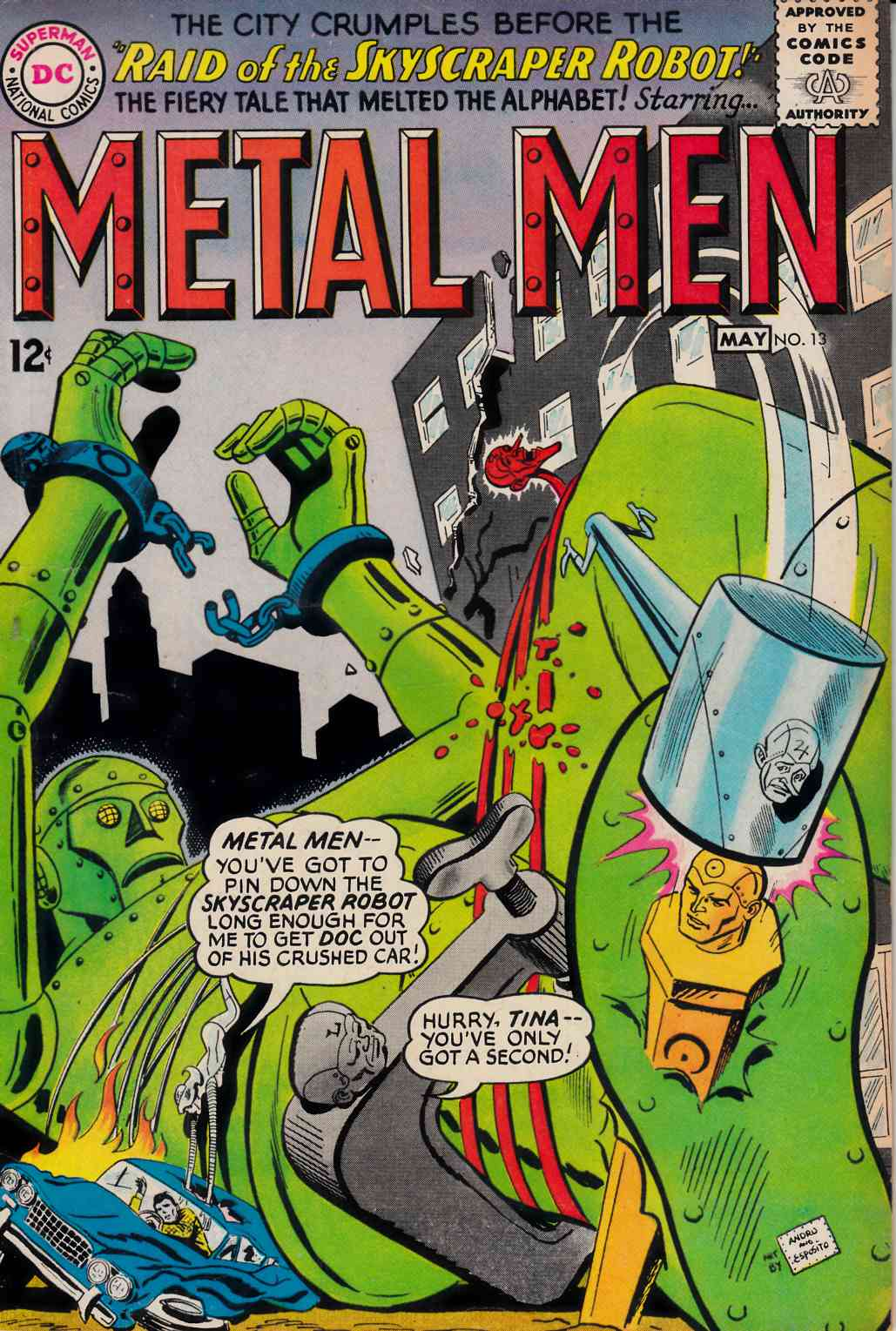 Metal Men #13 Very Good (4.0) [DC Comic] THUMBNAIL