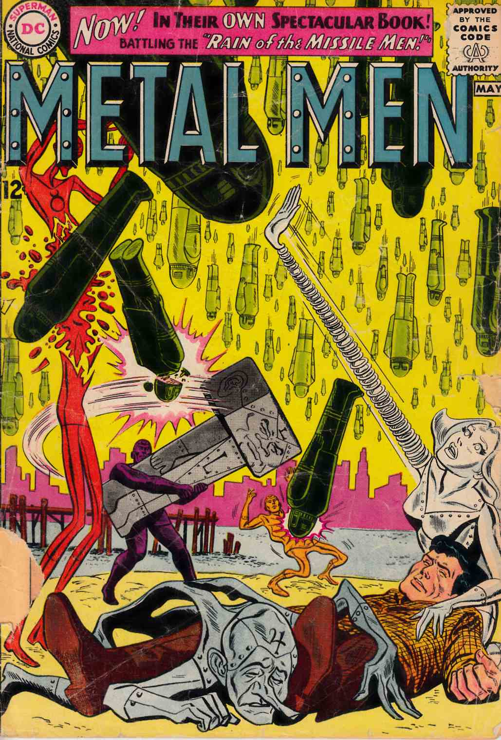 Metal Men #1 Fair/Good (1.5) [DC Comic] THUMBNAIL