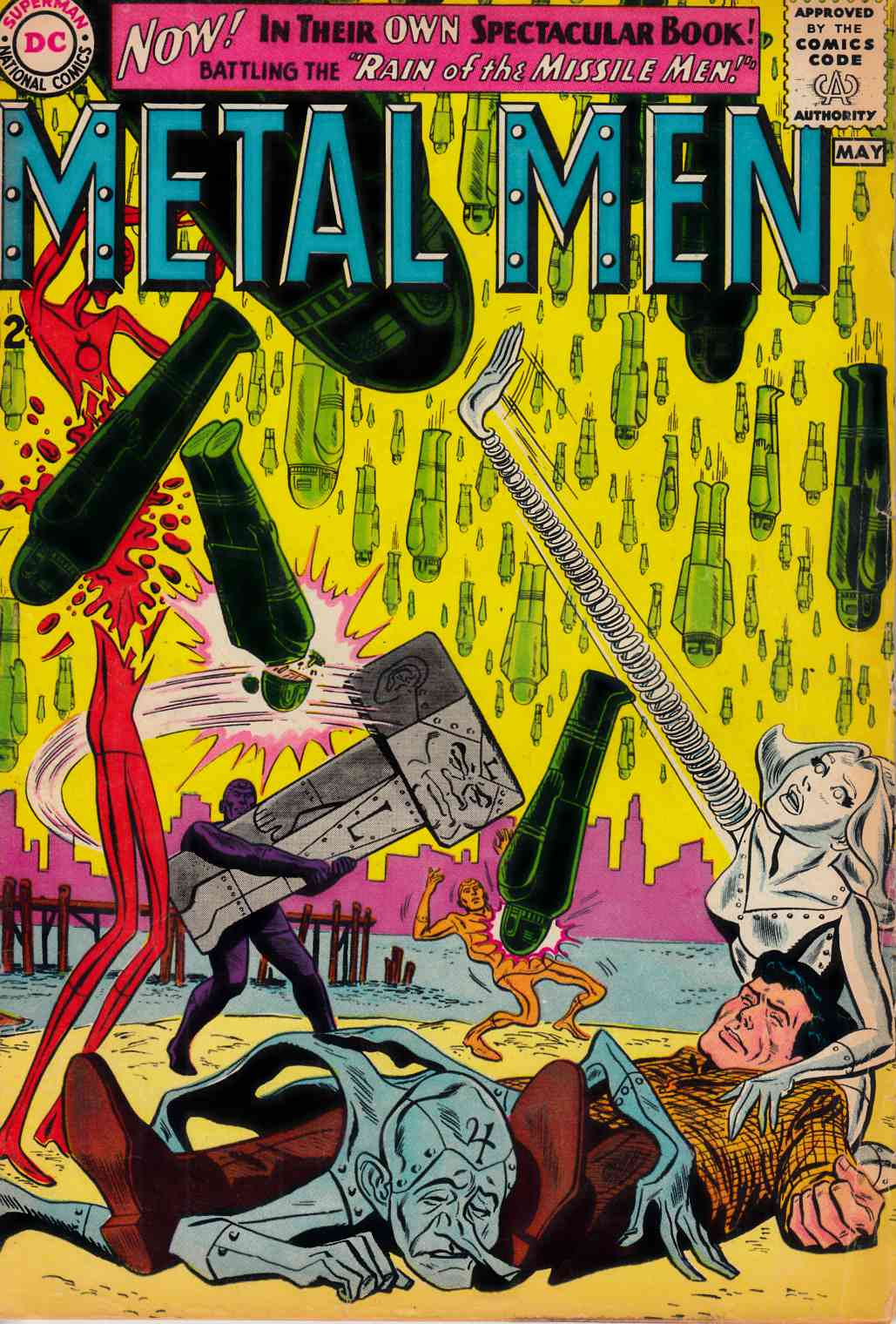 Metal Men #1 Very Good Plus (4.5) [DC Comic] THUMBNAIL