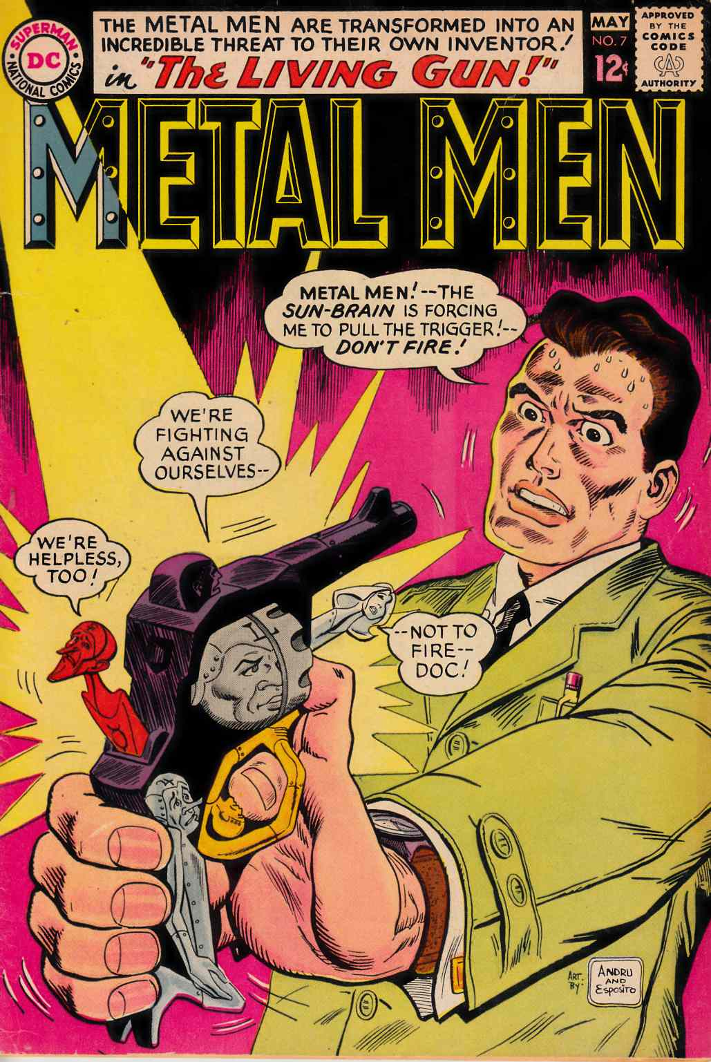 Metal Men #7 Very Good (4.0) [DC Comic] THUMBNAIL