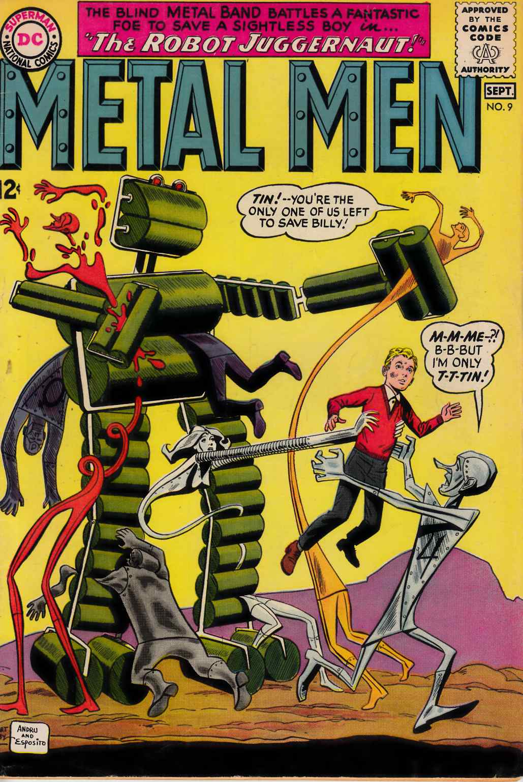 Metal Men #9 Fine (6.0) [DC Comic] THUMBNAIL