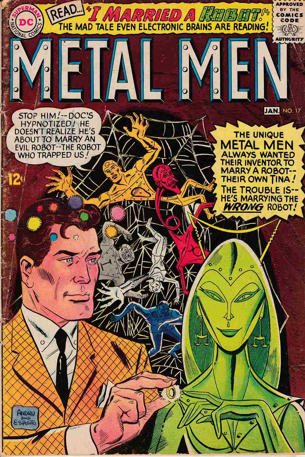 Metal Men #17 Good (2.0) [DC Comic] THUMBNAIL