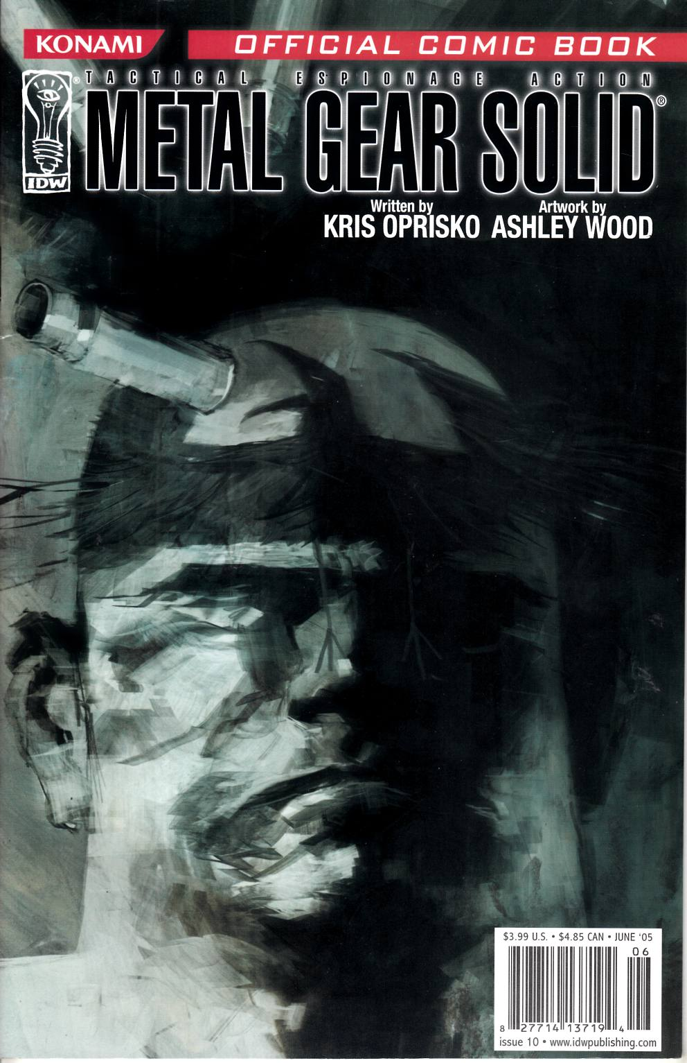 Metal Gear Solid #10 Very Fine (8.0) [IDW Comic] THUMBNAIL