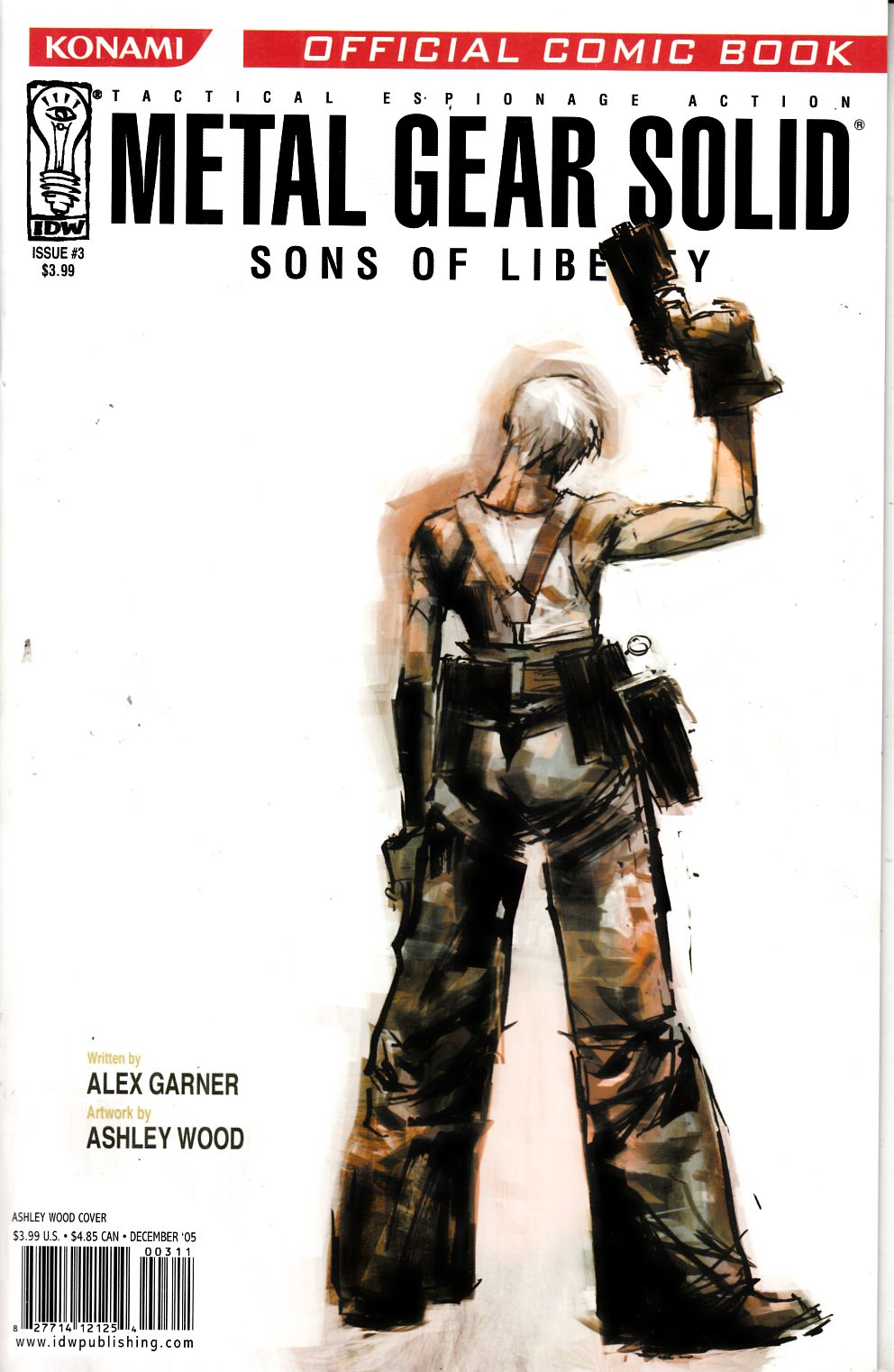 Metal Gear Solid Sons of Liberty #3 Near Mint (9.4) [IDW Comic] THUMBNAIL